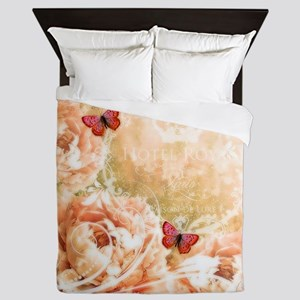 Soft floral Queen Duvet