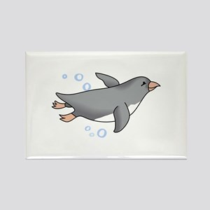 PENGUIN SWIMMING Magnets