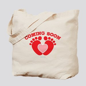 Coming Soon Maternity Tote Bag