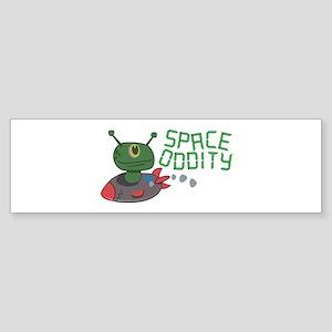 Space Oddity Bumper Sticker