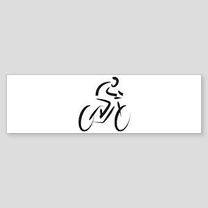 Cyclist Bumper Sticker