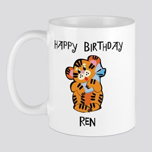 Happy Birthday Ren (tiger) Mug