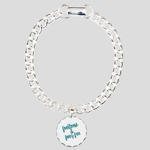 Footloose & Fancy Free Charm Bracelet, One Charm
