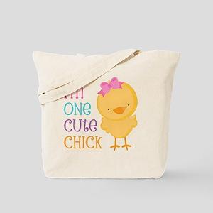 I'm One Cute Chick Tote Bag