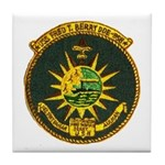 USS FRED T. BERRY Tile Coaster