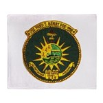 USS FRED T. BERRY Throw Blanket