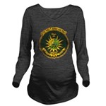 USS FRED T. BERRY Long Sleeve Maternity T-Shirt