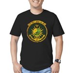 USS FRED T. BERRY Men's Fitted T-Shirt (dark)