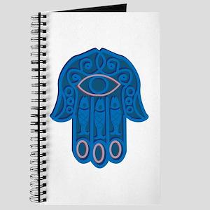 Hamsa Symbol Journal