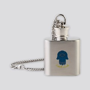 Good Luck Flask Necklace