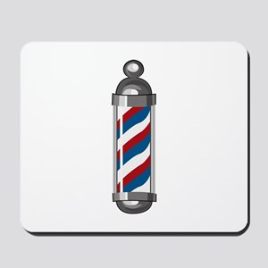 Barber Pole Mousepad