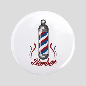 "Barber 3.5"" Button"
