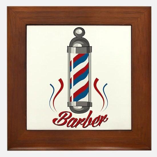 Barber Framed Tile
