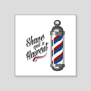 Shave & Haircut Sticker