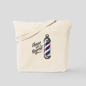 Shave & Haircut Tote Bag