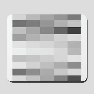 shades of gray Mousepad