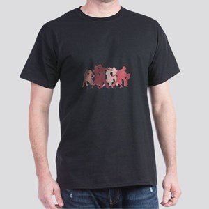 Latin Dancers Illustration T-Shirt