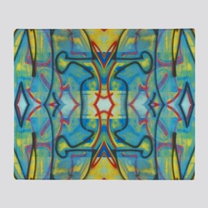 Abstract Reflection Throw Blanket