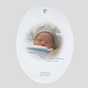 Custon Baby Ornaments(Oval)