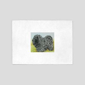 Black Puli (Spring) 5'x7'Area Rug