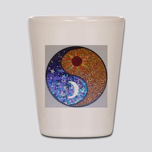 Mosaic Sun & Moon Shot Glass
