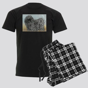 Black Puli (summer) Men's Dark Pajamas