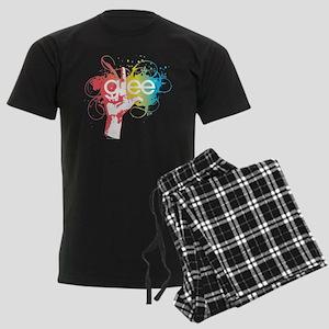 Glee Splatter Men's Dark Pajamas