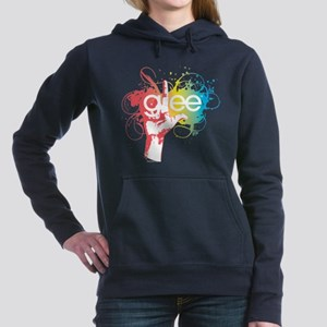 Glee Splatter Women's Hooded Sweatshirt