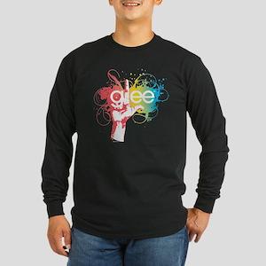 Glee Splatter Long Sleeve Dark T-Shirt