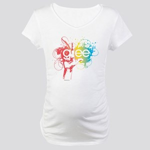 Glee Splatter Maternity T-Shirt