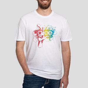 Glee Splatter Fitted T-Shirt