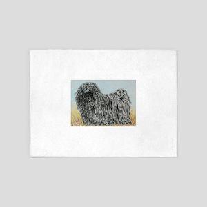 Black Puli (summer) 5'x7'Area Rug
