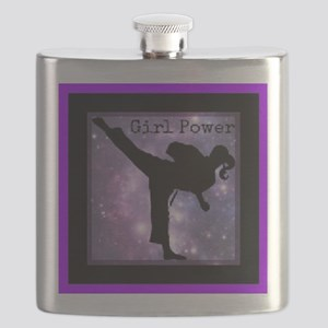 Girl Power2 Flask