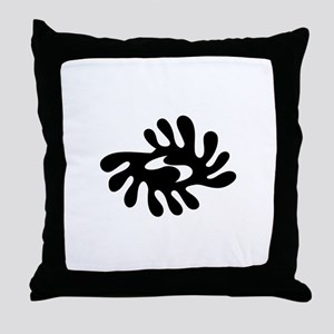 ADINKRA PEACE Throw Pillow