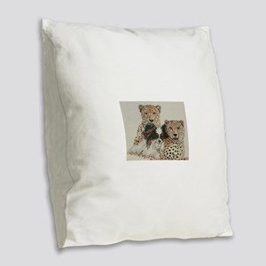 Make Our Day! Burlap Throw Pillow