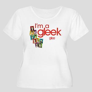 Glee Photos Women's Plus Size Scoop Neck T-Shirt