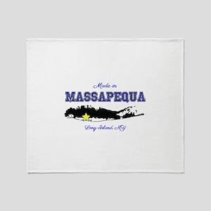 Made in Massapequa Throw Blanket