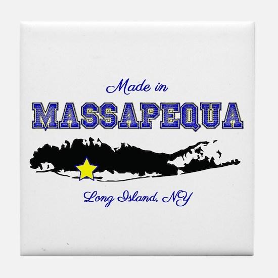 Made In Massapequa Tile Coaster
