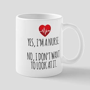 Yes I'm a Nurse Mugs