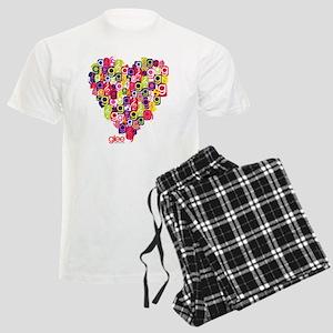 Glee Heart Men's Light Pajamas