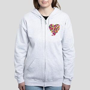 Glee Heart Women's Zip Hoodie