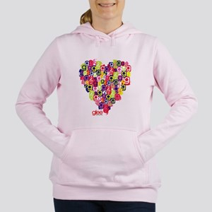 Glee Heart Women's Hooded Sweatshirt