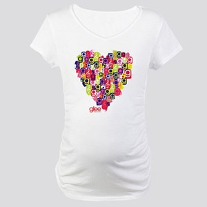 Glee Heart Maternity T-Shirt