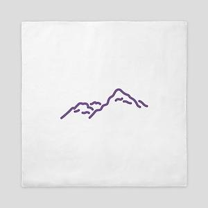 Mountain Range Queen Duvet