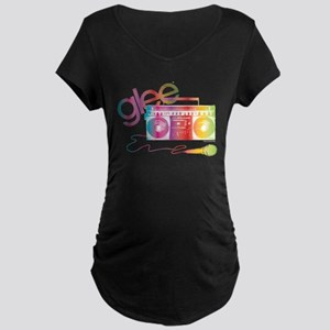 Glee Boombox Maternity Dark T-Shirt