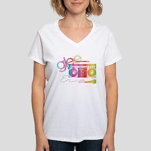 Glee Boombox Women's V-Neck T-Shirt