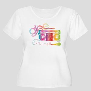 Glee Boombox Women's Plus Size Scoop Neck T-Shirt