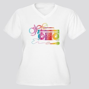 Glee Boombox Women's Plus Size V-Neck T-Shirt