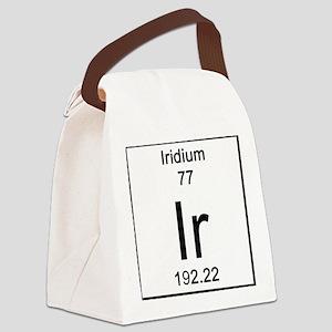 77. Iridium Canvas Lunch Bag