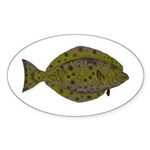 Pacific Halibut Sticker